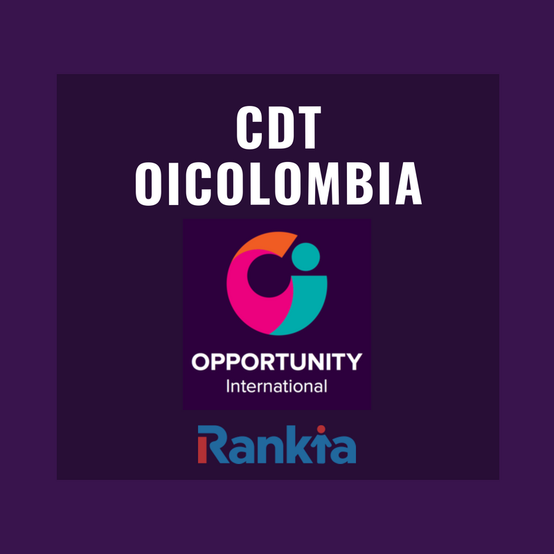 CDT Oicolombia: características, requisitos y tasas de interés