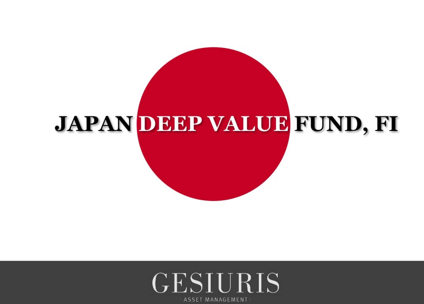Japan Deep Value
