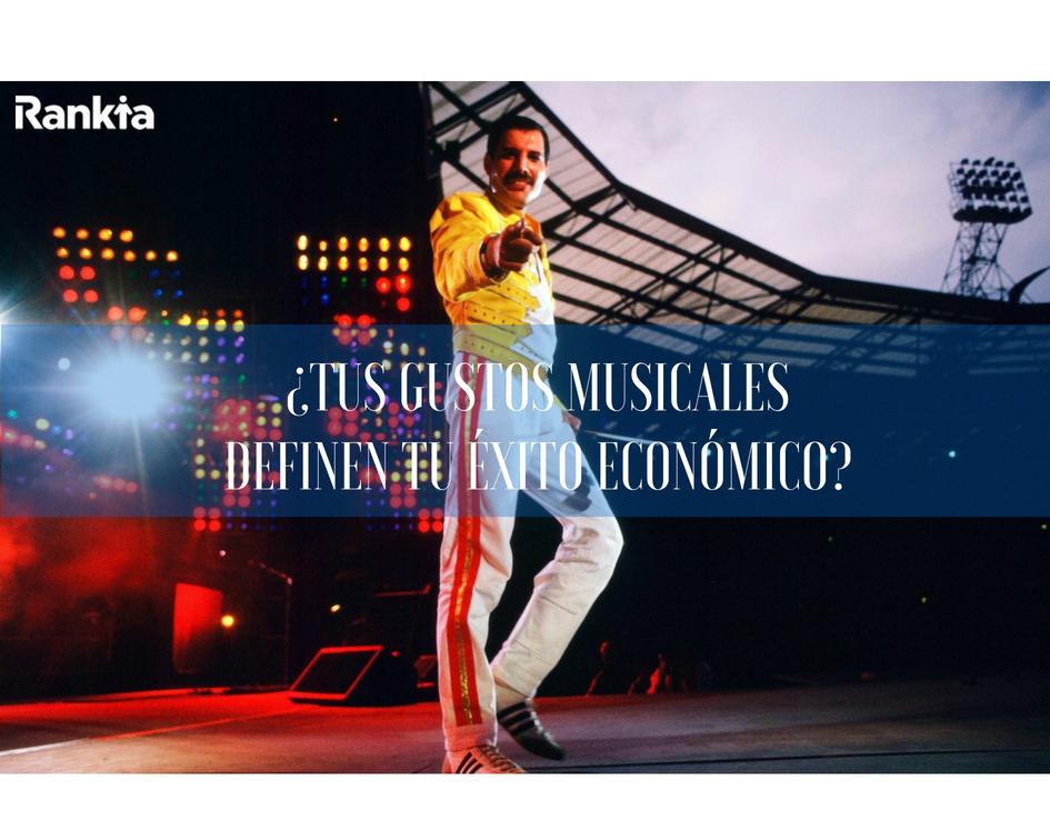Tus gustos musicales definen tu éxito financiero, Edgar Arenas