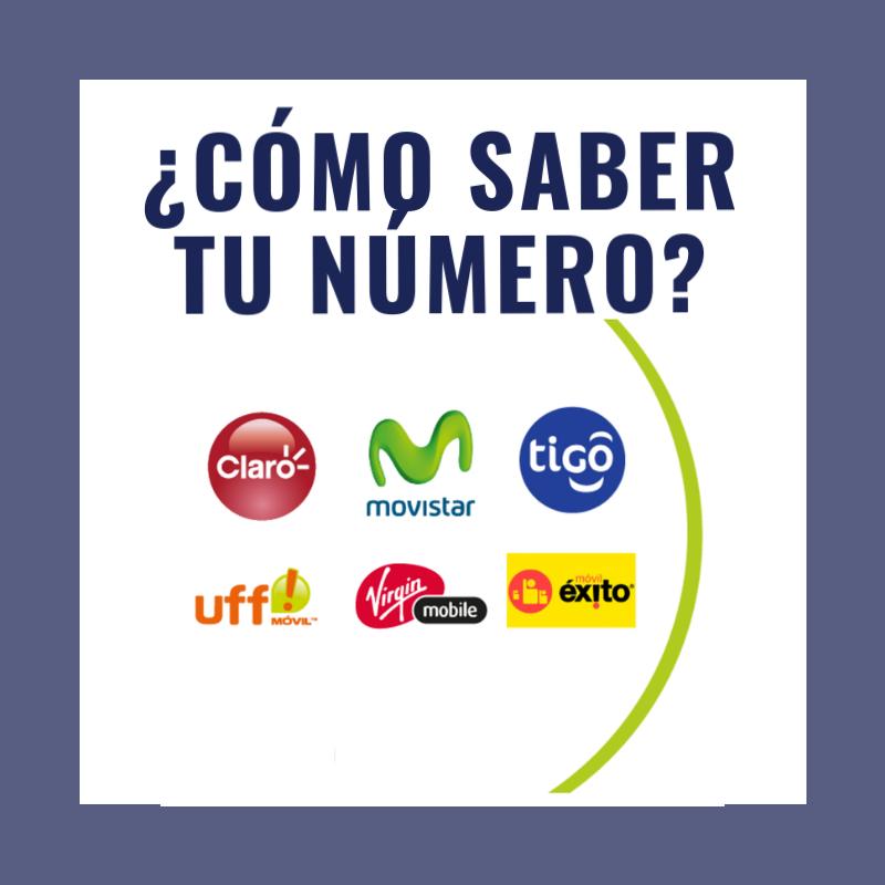 ¿Cómo saber mi número: Claro Colombia, Movistar, Tigo, Uff Móvil, Éxito y Virgin Mobile 2018?