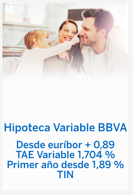 Hipoteca Variable BBVA