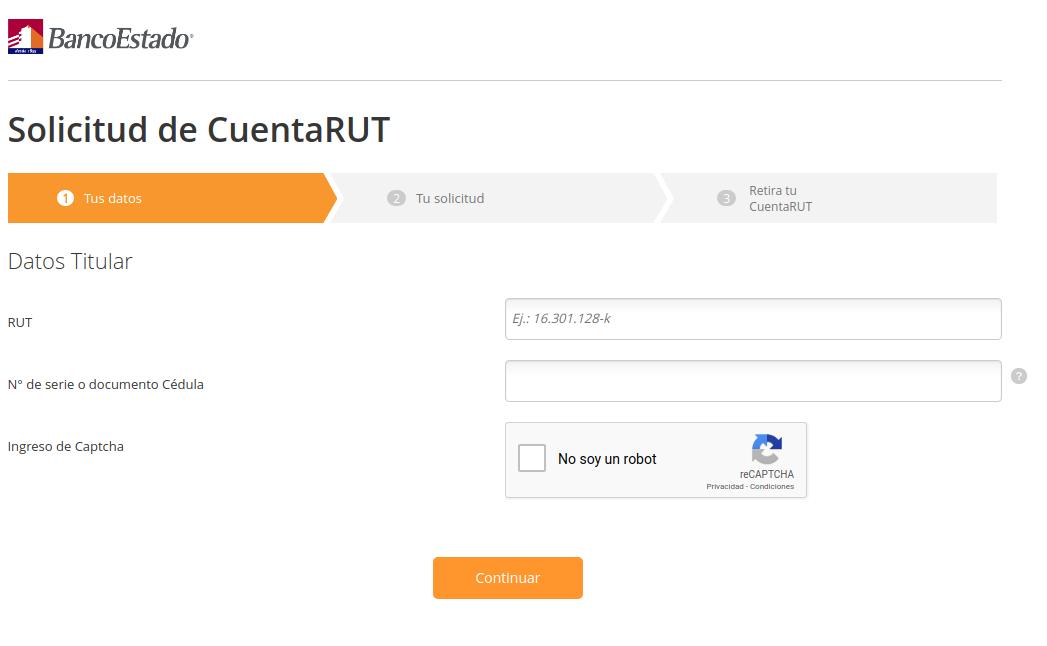 ¿Cómo crear una cuenta RUT? Pasos