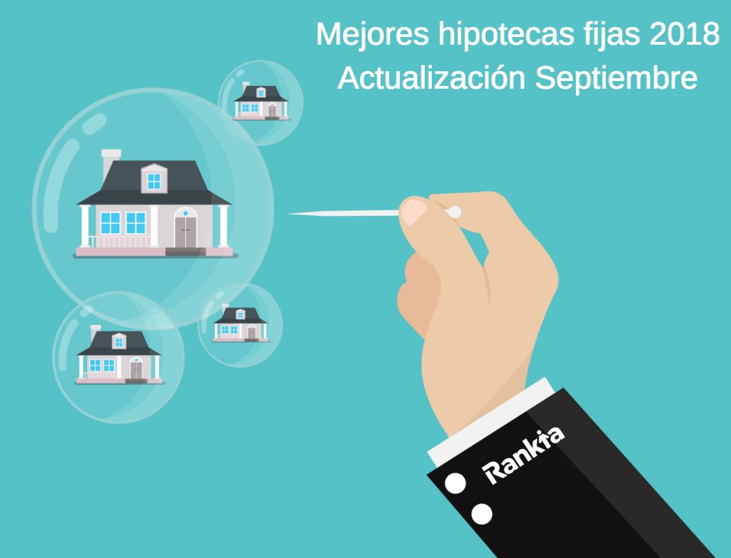 Hipotecas fijas septiembre