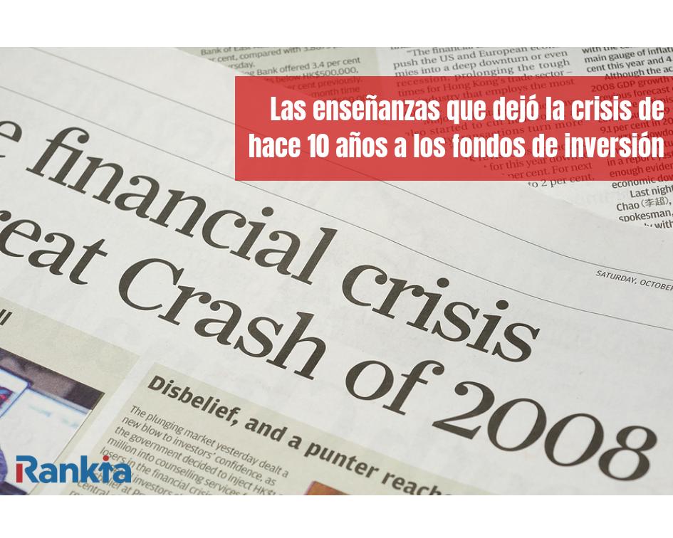 Crisis, Fondos de inversion, Edgar Arenas