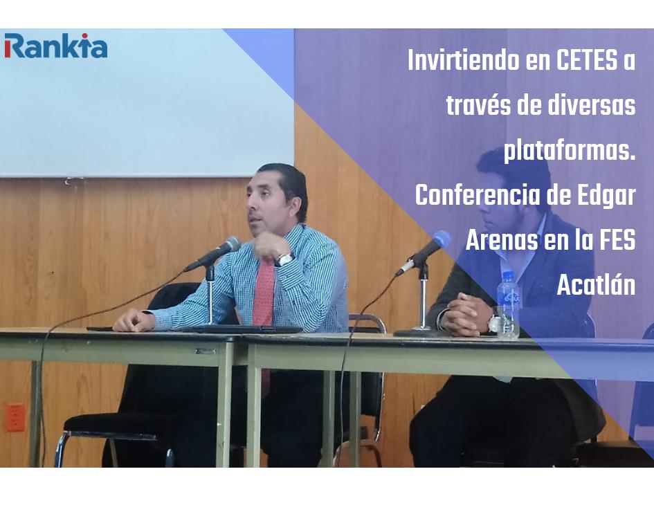 Edgar Arenas, CETES