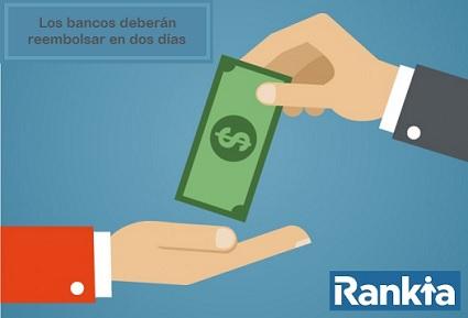 Bancos están obligados a reembolsar compras no reconocidas en dos días