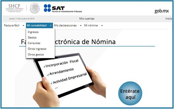 Mi Contabilidad: nueva aplicación del SAT para facilitar el pago de impuestos