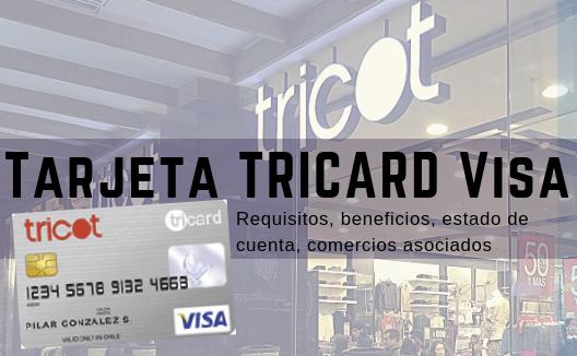 Tarjeta Tricard Visa: requisitos, estado de cuenta y comercios asociados