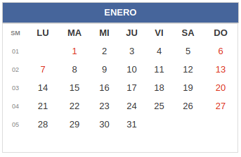 Calendario Chile 2019 Feriados.Calendario Laboral Colombia Dias Festivos 2019 Rankia