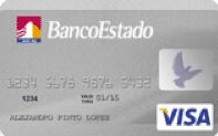 Visa internacional Banco Estado
