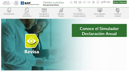 SAT lanza herramienta para simular cuánto vas a pagar de impuestos