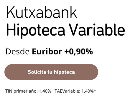 Kutxabank Hipoteca Variable