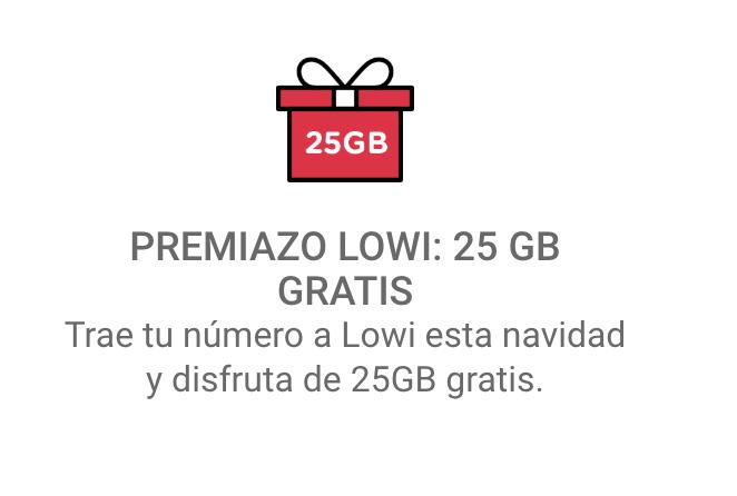 25 GB Lowi