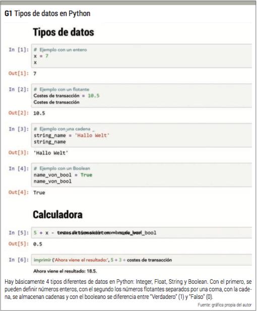 tipos de datos python