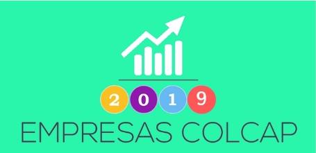 ¿Qué empresas cotizan en el COLCAP 2019?