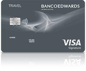 Tarjeta Visa Signature de Banco Edwards
