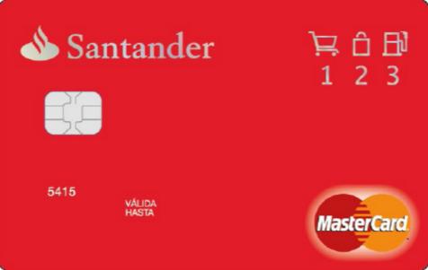 santander tarjeta