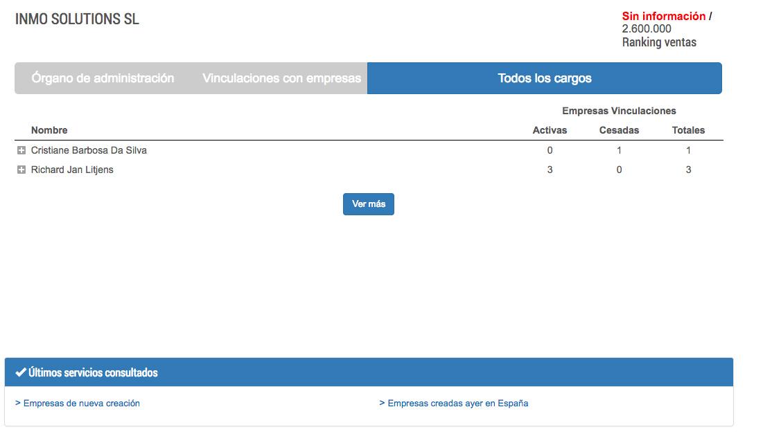 Inmo Solutions - Administradores