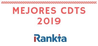 Mejores CDT para 2019