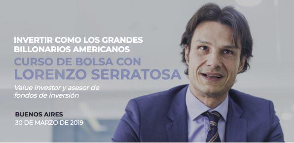 Curso Buenos Aires: Invertir como los grandes billonarios americanos