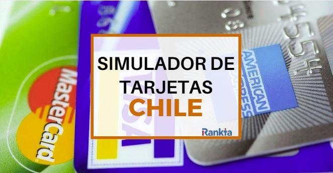 Simulador de tarjetas de crédito, débito y retail en Chile