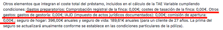Santander asume gastos hipoteca