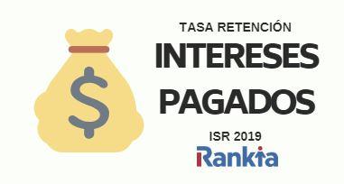 Novedades ISR 2019: Tasa de retención