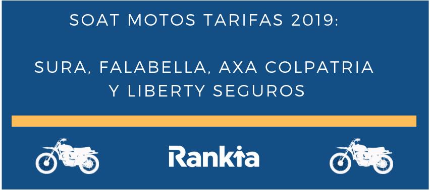 SOAT Motos Tarifas 2019: Sura, Falabella, Axa Colpatria y Liberty Seguros
