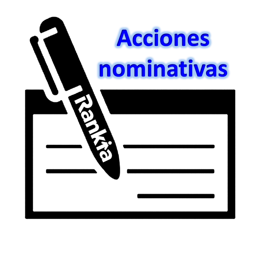 ¿Qué significa que las acciones son nominativas?