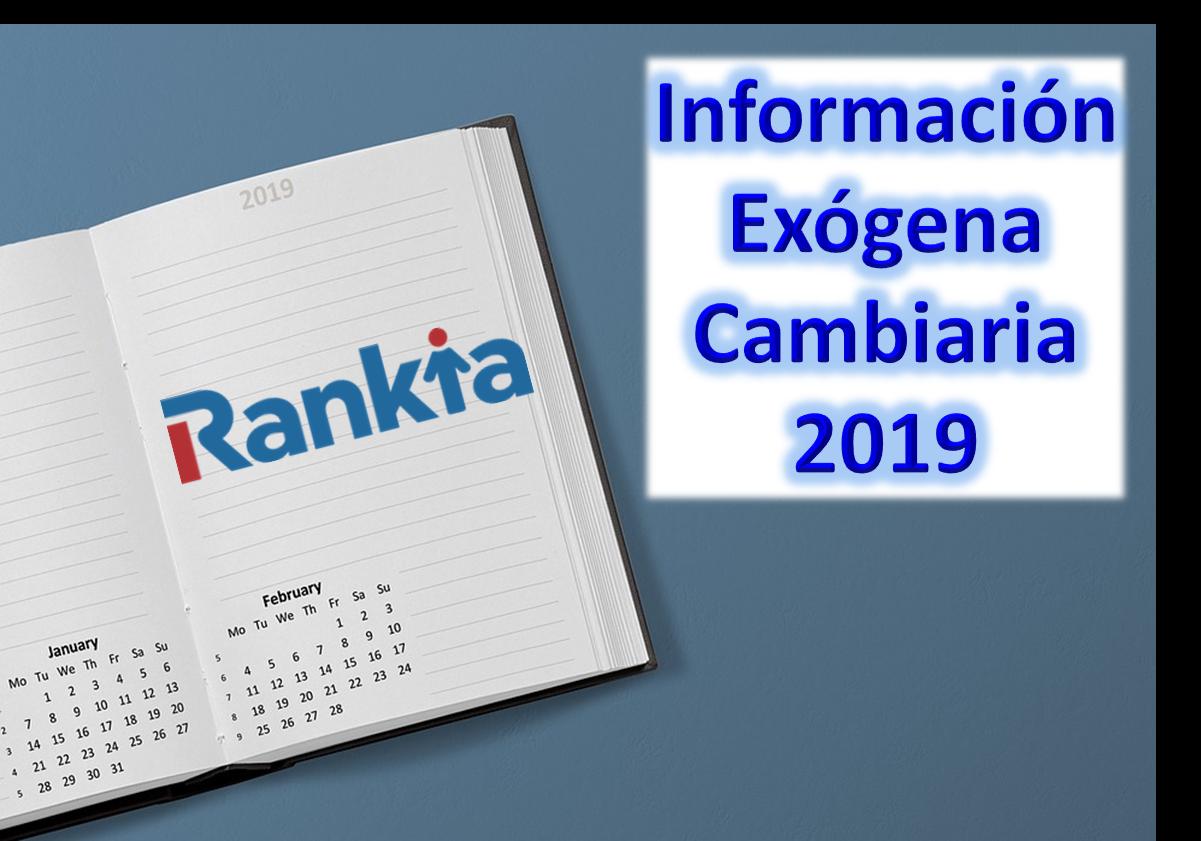 Calendario Cambiario DIAN 2019