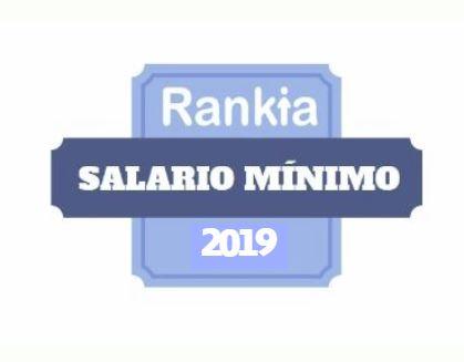 Salario Mínimo General 2019