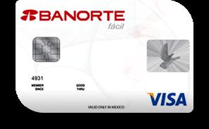 Tarjeta de crédito banorte fácil