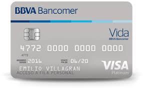 Tarjeta de Crédito Bancomer Platinum