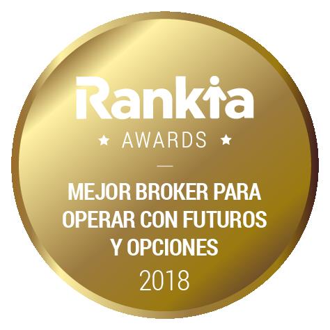 mejor broker futuros y opciones 2018