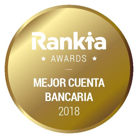 mejor cuenta bancaria 2018