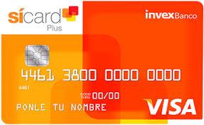 tarjeta de crédito si card plus