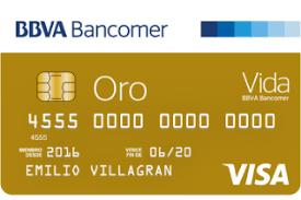 tarjeta de crédito bbva bancomer oro
