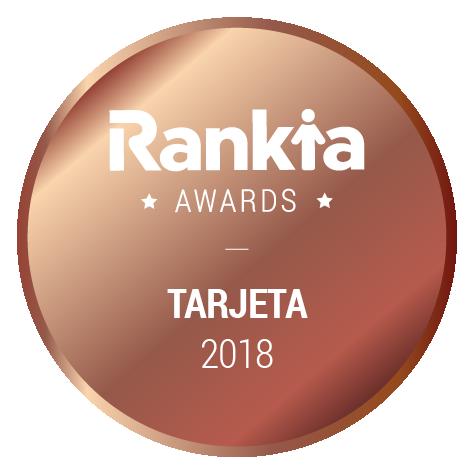 Premio Rankia Tarjetas Bronce