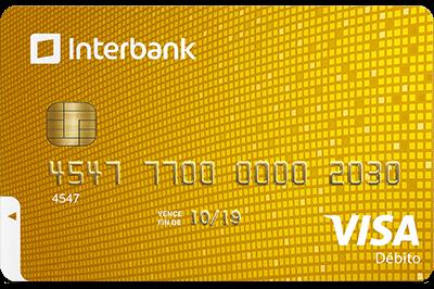 Tarjeta Debito Visa Interbank