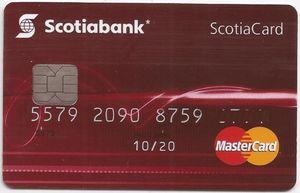 Tarjeta Mastercard Scotiabank Débito