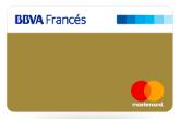 Tarjeta de Crédito Mastercard Gold: BBVA Francés
