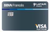 Tarjeta de Crédito Visa Platinum Latam Pass: BBVA Francés