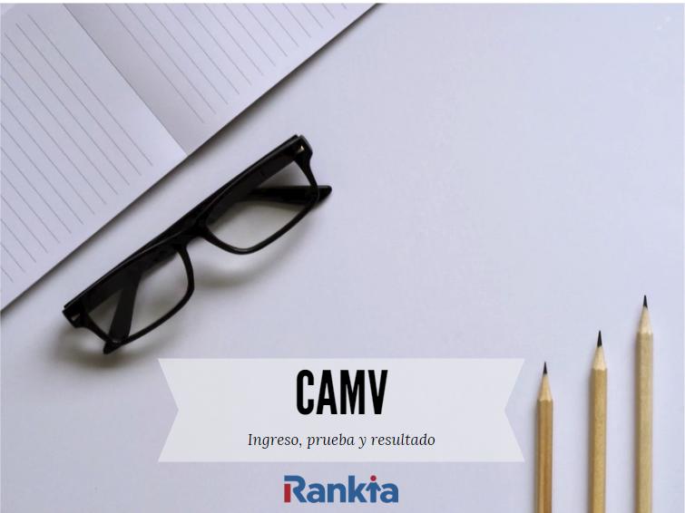 CAMV: ingreso, prueba y resultados