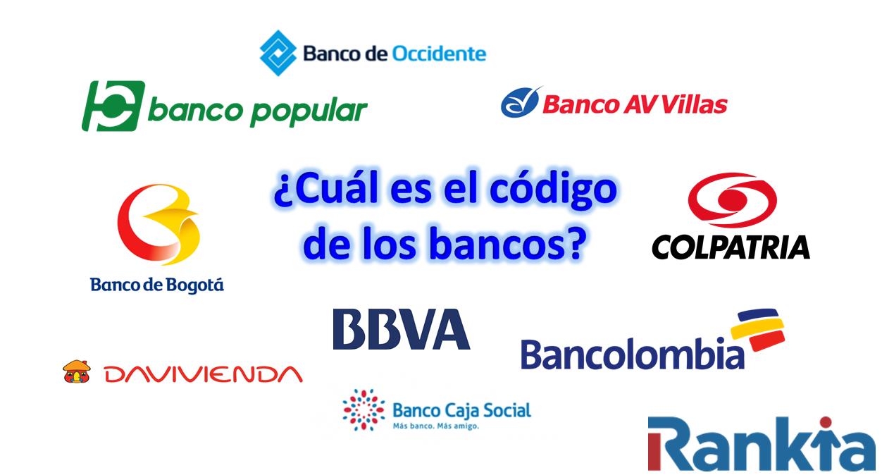 ¿Cuál es el código de los bancos?