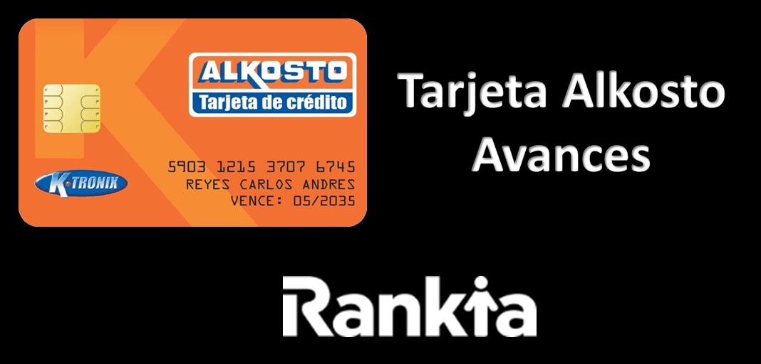 ¿Cómo hacer un avance con tarjeta de crédito Alkosto?