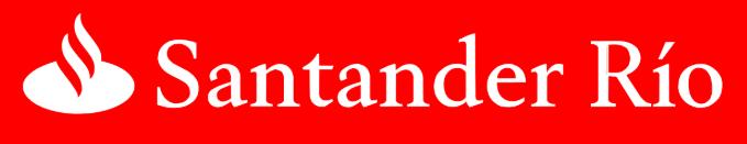 Home Banking: Santander Río