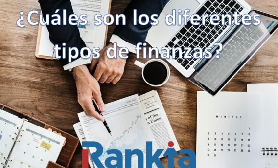 ¿Cuáles son los tipos de finanzas?