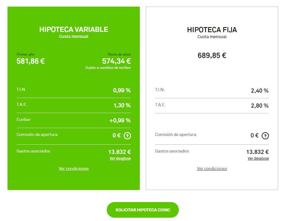 resultado simulador hipoteca coinc