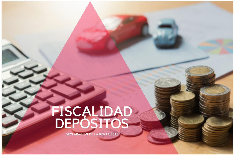 Fiscalidad depósitos