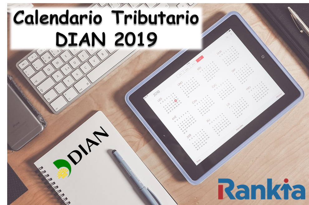 Calendario tributario 2019 - DIAN